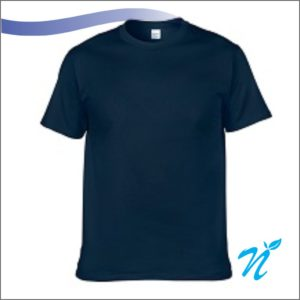 Round Neck Tshirt ( Navy Blue ) - 180 GSM
