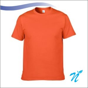 Round Neck Tshirt ( Orange ) - 180 GSM