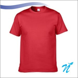 Round Neck Tshirt ( Red ) - 180 GSM