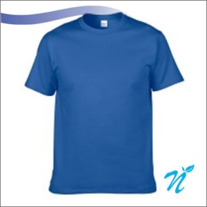 Round Neck Tshirt ( Royal Blue ) - 180 GSM