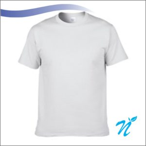 Round Neck Tshirt ( White )