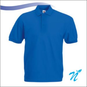 Collared Tshirt ( Royal Blue ) - 240 GSM