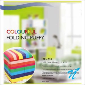 Colorful Folding Puffy