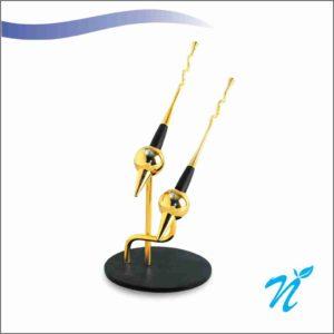 Brass Pen Stand (Silver)