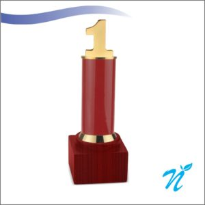1 Year Trophy ( Red )
