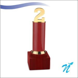 2 Year Trophy ( Red )