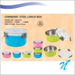 Combined Steel Lunch Box