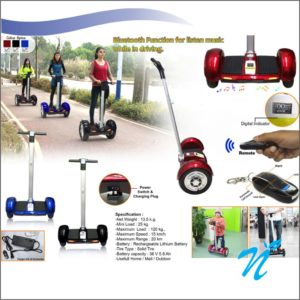 Self Balancing Scooter with Bluetooth Speaker