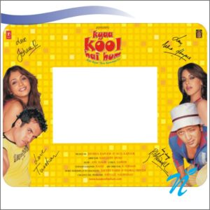 Mouse Pad with Photo Frame (Rubber)
