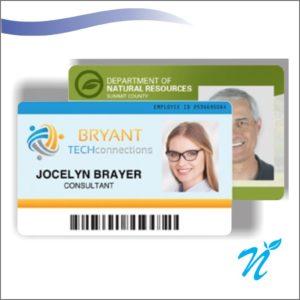 Multi Colour Employee Card