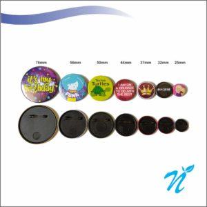 Pin Badges - 76 mm