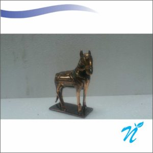 Small Horse With Base Show Piece