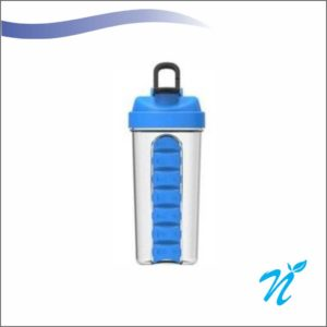 Pill Organiser Gym Shaker
