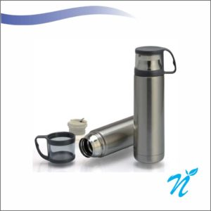 Steel Flask With Cup