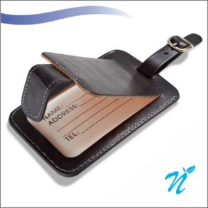 Pure Leather Luggage Tag