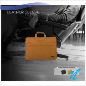 Neopack Leather Sleeve with Handle