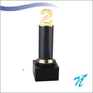 2 Year Trophy ( Black )