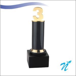 3 Year Trophy ( Black )