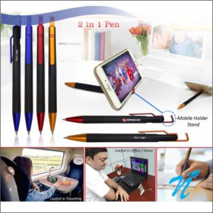 Ball Pen with Mobile Holder