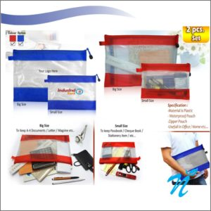 Big / Small Stationery-A4 Document Holder Pouch