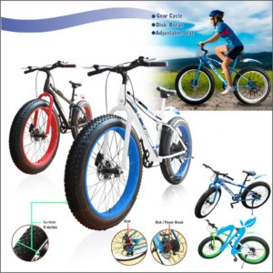 Sports Cycle with broad Tyre C-1