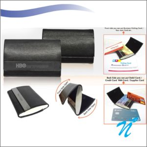 Dual Business Visiting Card Holder