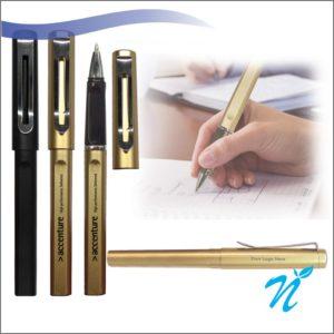 Gel Pen (Plastic Body & Metal Clip)