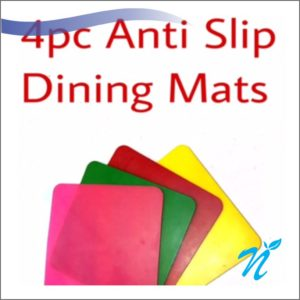 Silicone Dining Table Mats ( 4 pcs Set)