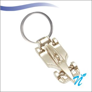 Car Shaped Metal Keychains (Steel Plate)
