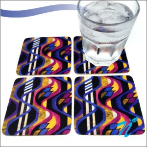 Rubber Coaster ( Square )