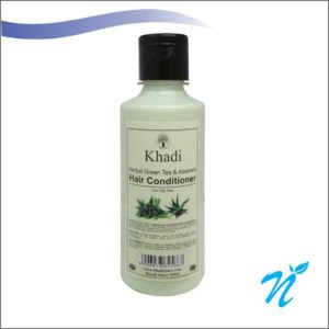 Khadi Pure Herbal Green Tea & Aloevera Hair Conditioner