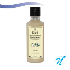 Khadi Pure Herbal Jasmine & Mogra Body Wash SLS-Paraben Free