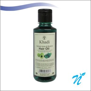 Khadi Pure Herbal Amla & Brahmi Hair Oil
