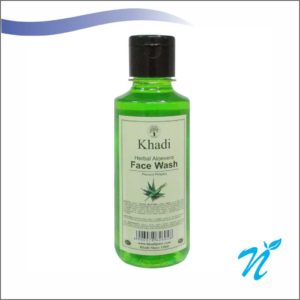 Khadi Pure Herbal Aloevera Face Wash