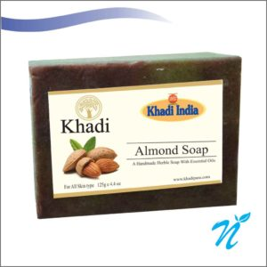 Khadi Pure Herbal Almond Soap