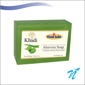 Khadi Pure Herbal Aloevera Soap