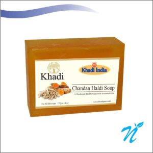 Khadi Pure Herbal Chandan Haldi Soap