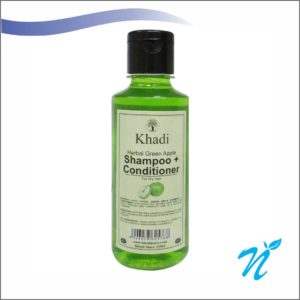 Khadi Pure Herbal Green Apple Shampoo + Conditioner