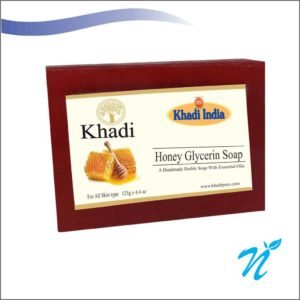 Khadi Pure Herbal Honey Glycerin Soap