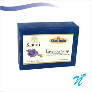 Khadi Pure Herbal Lavender Soap