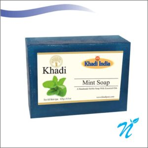 Khadi Pure Herbal Mint Soap