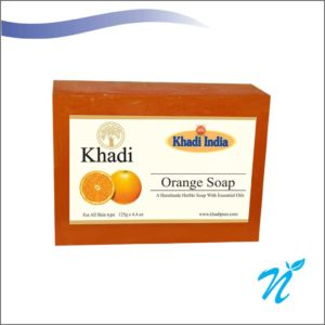 Khadi Pure Herbal Orange Soap