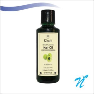 Khadi Pure Herbal Pure Amla Hair Oil