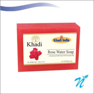 Khadi Pure Herbal Roase Water Soap
