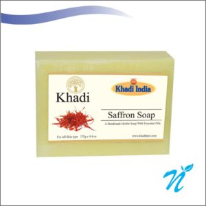Khadi Pure Herbal Saffron Soap