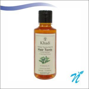 Khadi Pure Herbal Thyme Henna Hair Tonic