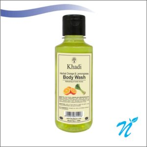 Khadi Pure Herbal Orange & Lemongrass Body Wash