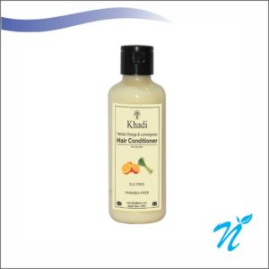 Khadi Pure Herbal Orange & Lemongrass Hair Conditioner SLS-Paraben Free