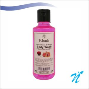 Khadi Pure Herbal Rose Body Wash SLS-Paraben Free