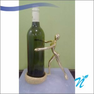 Wine Holder Show Piece